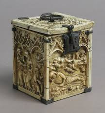 <b>Box</b> with Scenes from the Infancy of Christ Date: 14th century Culture