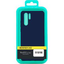 Чехол-накладка для <b>Xiaomi</b> Poco F2 Pro синий, <b>Microfiber Case</b> ...