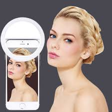 Ring Light For Iphone Xr Selfie Portable Flash Led Camera Phone Photography Ring Light Enhancing Photography For Iphone Smartphone Pink White Black