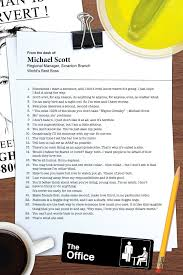 funny office poster. Michael Scott\u0027s Office Poster, Inspired By The Funny Poster 3