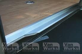 stainless steel sliding door trim for vw t25