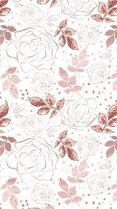 View 30 Rose Gold Iphone Floral Wallpaper