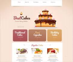Bakery Websites 24 Cake Website Themes Templates Free Premium Templates