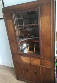 vintage wooden cabinet cupboard