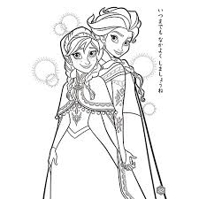 B5ぬりえ アナと雪の女王トイザらスベビーザらス