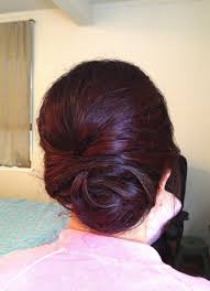 Rustic Up Do Wedding Hair Style