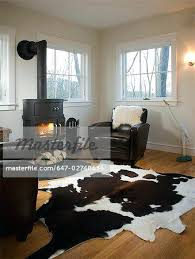 fascinating animal rugs for living room living room with wood burning stove and animal skin rug