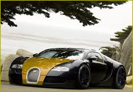 Bugatti Veyron Gold And Black By J-artDesign ...