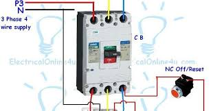 contactor wiring guide for 3 phase motor with circuit breaker Three Phase Wiring contactor wiring guide for 3 phase motor with circuit breaker, overload relay, nc no switches three phase wiring diagram