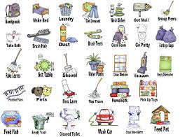 Household Chore Chart Household Chores Clipart Free Unlimited Clipart Design