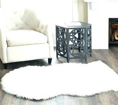 amazing gray faux fur rug and large fur rug gray faux fur rug white fur rug