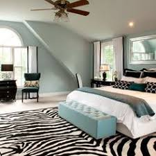 Teal And White Bedroom Decor 15.