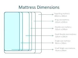 Mattress Size Chart European Euro Size Mattress Pecintakucing Co