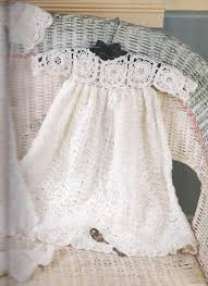 Free Crochet Christening Gown Patterns Interesting Decorating Design