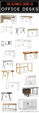 office desk styles. Interesting Styles The Ultimate Guide For Modern Office Desks On Petite Life 18 Styles   5 Stores Buy It Build Inside Desk Styles