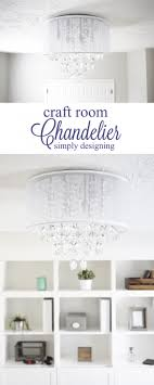 craft room lighting. craft room chandelier such a beautiful new light fixture for and airy office lighting
