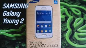 SAMSUNG GALAXY YOUNG 2 UNBOXING - YouTube