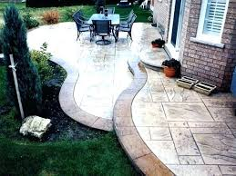 stamped concrete per lovely cement patio or decorative contemporary s uk stampe