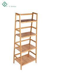 Deluxe Badezimmer Bambus 4 Etagen Organizer Ladder Shelf Bamboo Shorage Shelf Buy Bambus 4 Tiers Leiter Regalbad Leiter Regalbambus Shorage Regal