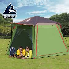 Hewolf 5 <b>8 Persons</b> Camping Tent Double Layer Big Space ...