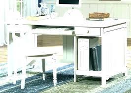 sauder office port library desk white antique home furniture