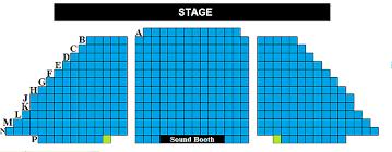 Seating Chart Harborplayhouse