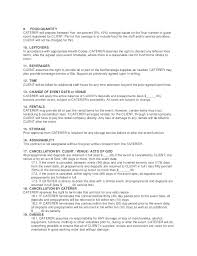 Catering Contract Samples Catering Proposal Template Midterms