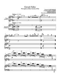 legend of zelda piano sheet music legend of zelda piano sheet music the legend of zelda ocarina of
