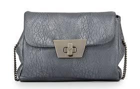 danielle nicole jenna faux leather shoulder bag