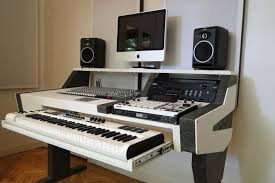 diy fully custom built studio amazing home studio desk design