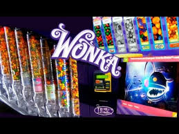 Sweet Vending Machine Unique Willy WONKA CANDY Vending MACHINE YouTube