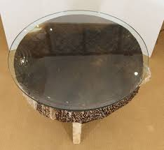 african drum coffee table in distressed condition for in new york ny