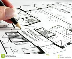 architectural. Architectural Plan Stock Images