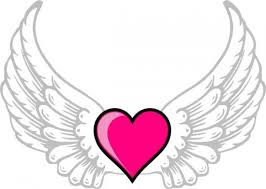 Small Picture coloring pages of hearts with wings hearts with wings coloring