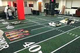 football carpeting fascinating football field carpet football turf