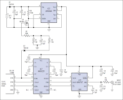 this micropower circuit enables a pc s rs 232 serial port to control