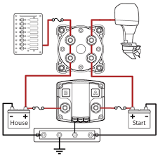 marine battery disconnect switch wiring diagram the best wiring 3 battery boat wiring diagram at Marine Dual Battery Switch Diagram