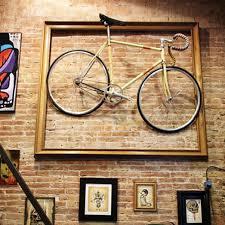 bike frame wall art