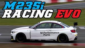 BMW Convertible bmw m235i race car : BMW M235i racing EVO testing - YouTube
