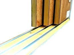 sliding closet door floor guide recessed sliding door floor sliding closet door floor guides home depot