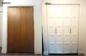 cost to install bifold doors d i y e s g n bi fold closet door makeover in folding doors ideas 4 cost of installing bifold doors nz