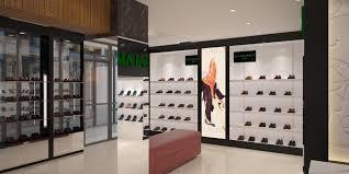 Footwear Shop Design Best Selling Wooden Shoes Shop Counter Display Design