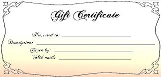 Make Your Own Gift Certificate Free Printable Make Your Own Certificate Free Printable Border Templates
