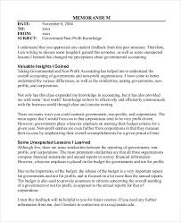 Memo Example For Business Company Memo Examples Guatemalago