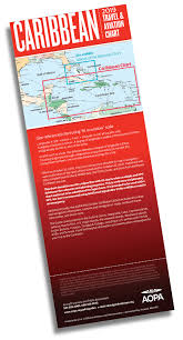 Aopa Charts Color Wac Scale Vfr Chart For The Caribbean