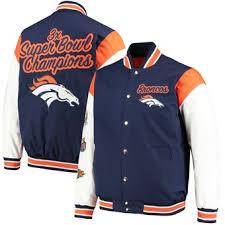 Throwback Broncos Navy - Starter Jacket Enforcer Denver