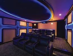 Impressive Basement Home Theater Lighting One Cinema Photo By Lance Anderson Throughout Perfect Design