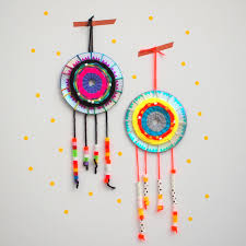 How To Make A Dream Catcher For Kids DIY WOVEN CD DREAMCATCHER 19