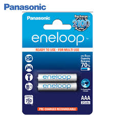 <b>Panasonic</b> BK 4MCCE/2BE <b>Аккумуляторы</b> eneloop 750 мАч <b>AAA</b> ...