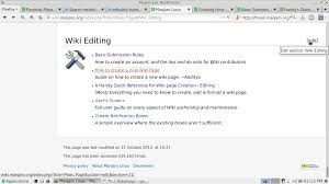 Edit Wiki How To Create A New Wiki Page Manjaro Linux